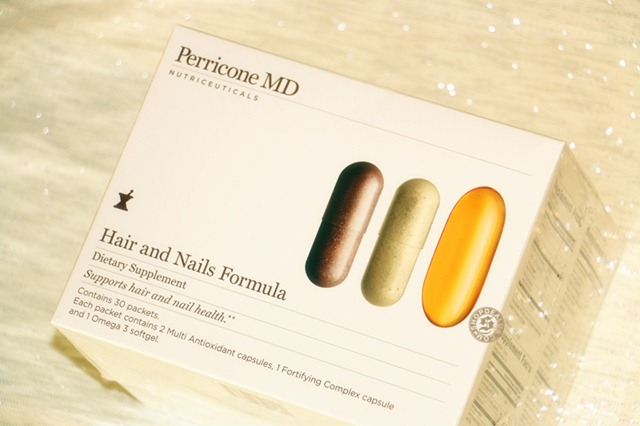 Perricone hair and nails formula